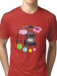 Callin flower Tri-blend T-Shirt