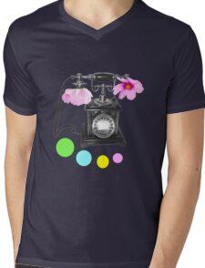 Callin flower Mens V-Neck T-Shirt