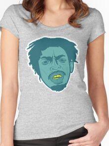 Meechy Darko Lit Women's Fitted Scoop T-Shirt