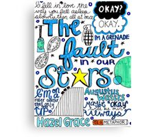 TFIOS collage Canvas Print