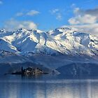 Mountains above Lake Wanaka by Charles Kosina