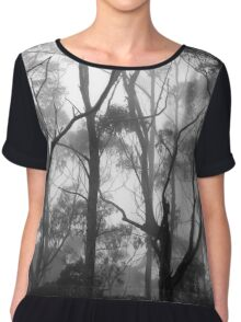 The Clearest Way into The Universe is Through a Forest Wilderness Women's Chiffon Top