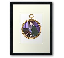 Time For Eight Framed Print