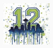 Seattle Seahawks 12th Man Fan Art Kids Clothes