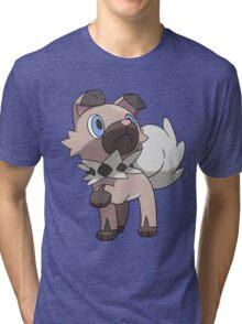 Rockruff / Iwanko Tri-blend T-Shirt