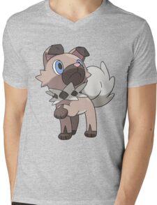 Rockruff / Iwanko Mens V-Neck T-Shirt