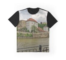 Looking Across the Danube, Passau 24 Graphic T-Shirt