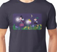 Ben and Holly - Flying through the night Unisex T-Shirt