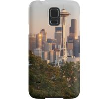 Seattle and the Mountain at Dusk Samsung Galaxy Case/Skin