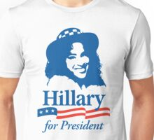 Hillary For President - Red White & Blue Unisex T-Shirt