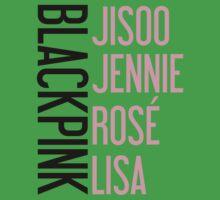 BLACKPINK Jisoo Jennie Rose Lisa One Piece - Short Sleeve