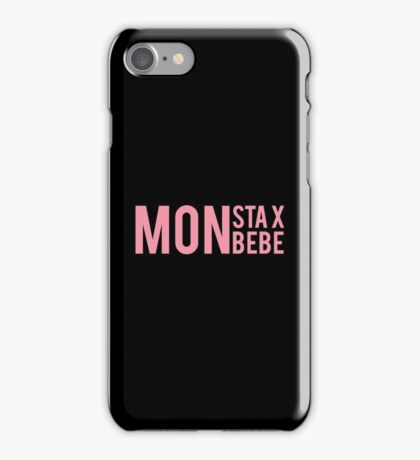 Monsta X + Monbebe iPhone Case/Skin