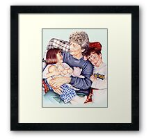 A Day with Gramma Framed Print