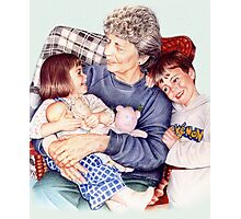 A Day with Gramma Photographic Print
