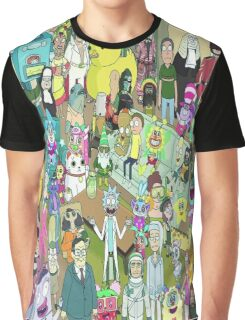 rick and morty waldo Graphic T-Shirt