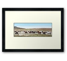 Going To Higher Ground Framed Print