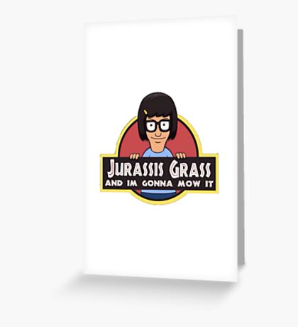 Jurass is grass Greeting Card