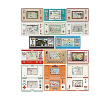 Nintendo Game & Watch Collection! Photographic Print