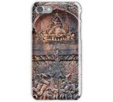 Ancient Temple Carving iPhone Case/Skin