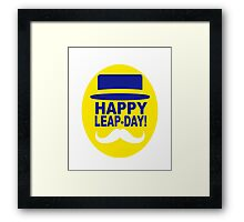 HAPPY LEAP-DAY 2 x Framed Print