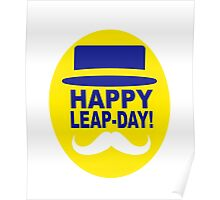HAPPY LEAP-DAY 2 x Poster