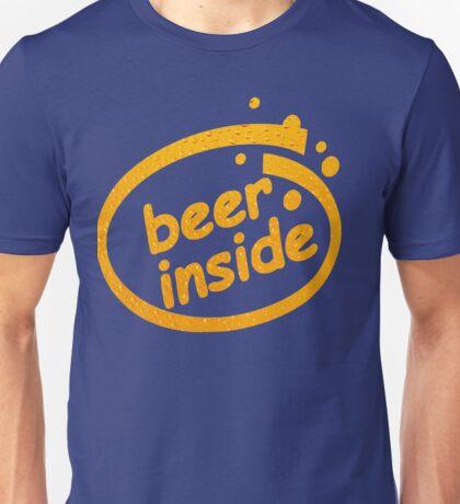 BEER INSIDE Unisex T-Shirt