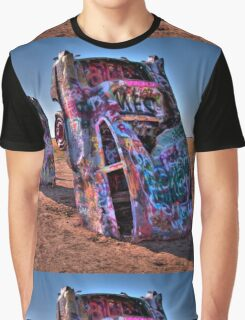 Cadillac ranch Graphic T-Shirt