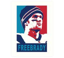 Free Brady Art Print