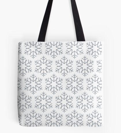 Beautiful Snowflakes pattern Tote Bag