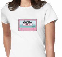 K-On! Cassette Design Womens Fitted T-Shirt