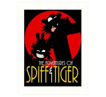 Spiff and Tiger Art Print