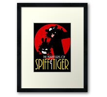 Spiff and Tiger Framed Print