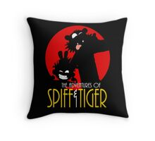 Spiff and Tiger Throw Pillow