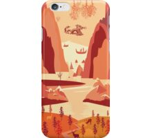 Up The River iPhone Case/Skin