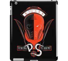 Fencing Academy iPad Case/Skin