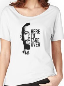 McGregor - Here to take over  Women's Relaxed Fit T-Shirt