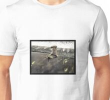 Half Tree Man can't decide whether or not to take the plunge... Unisex T-Shirt