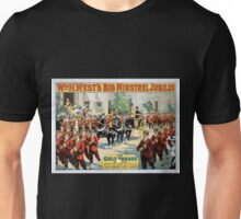 Performing Arts Posters Wm H Wests Big Minstrel Jubilee 1792 Unisex T-Shirt