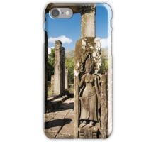 Bayon Temple Ruins in Cambodia iPhone Case/Skin