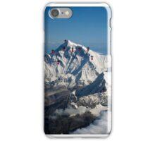 Adventurers spirits died on Everest iPhone Case/Skin