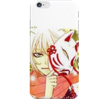 tomoe and his mask iPhone Case/Skin