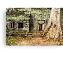 Ta Prohm Temple in Cambodia Canvas Print