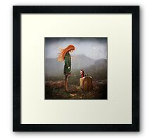 'Take Me To The Castle' Framed Print