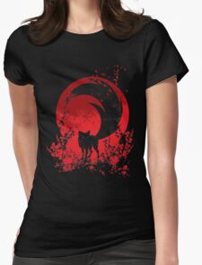 Red Tail Womens Fitted T-Shirt