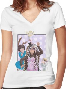 Inspiration Women's Fitted V-Neck T-Shirt