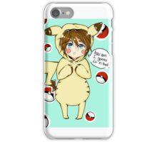 pika-cute iPhone Case/Skin