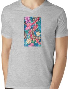 Koi Pond Mens V-Neck T-Shirt