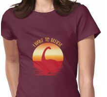 Nessie Womens Fitted T-Shirt