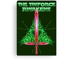 The Triforce Awakens Canvas Print