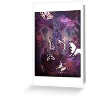 Butterfly Pelvis Greeting Card